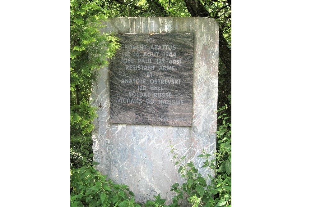Memorial for José Paul en Anatole Ostrevski