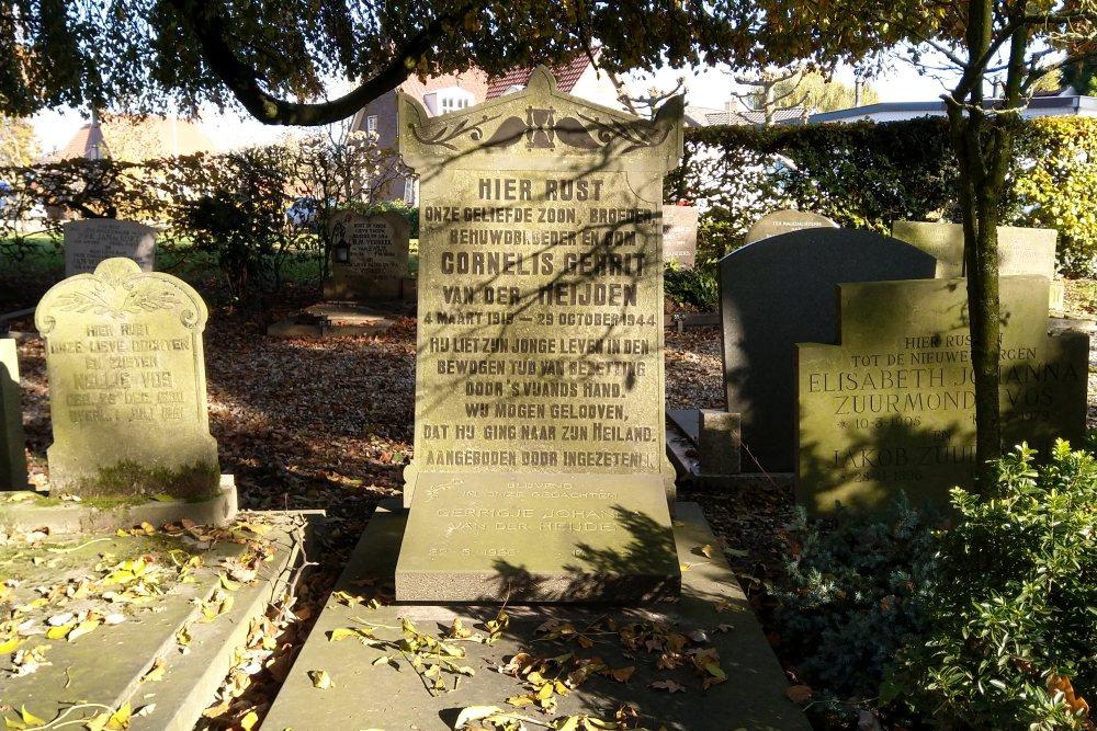 Graf Burgerslachtoffer Algemene Begraafplaats Enspijk