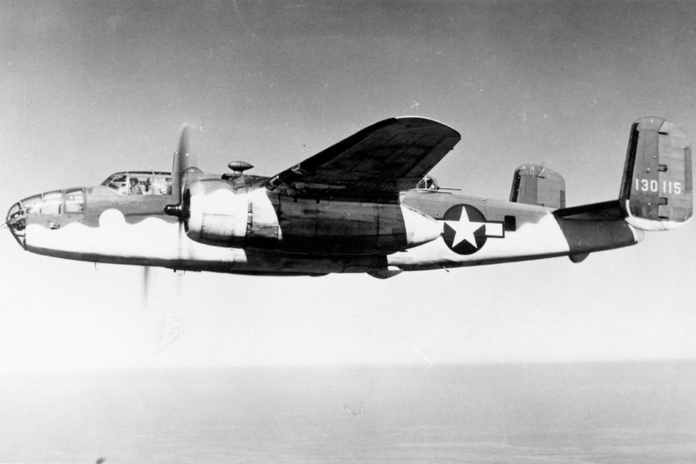 Crash Site B-25D-10 Mitchell 41-30313
