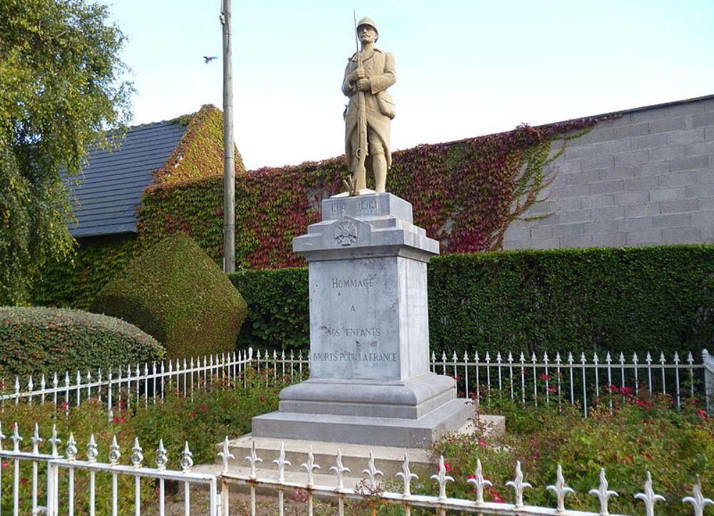 World War I Memorial Le Mesnil-sur-Bulles