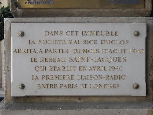 Plaque Network Saint-Jaques