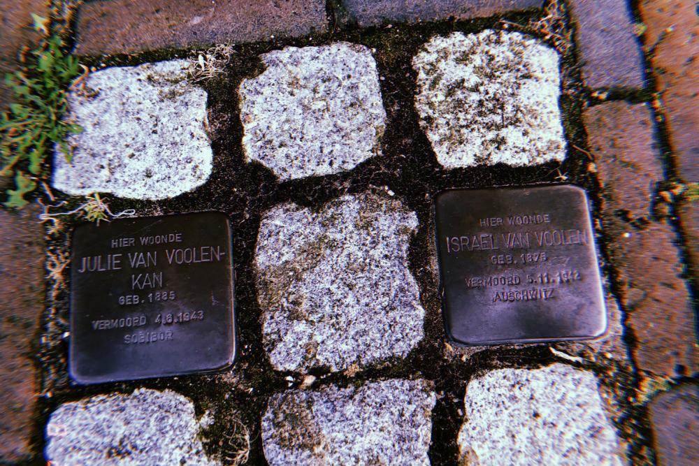 Stumbling Stone Spaarne 25-27