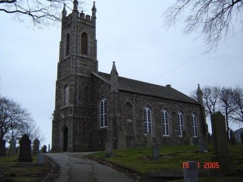 Commonwealth War Graves Nigg Parish Churchyard