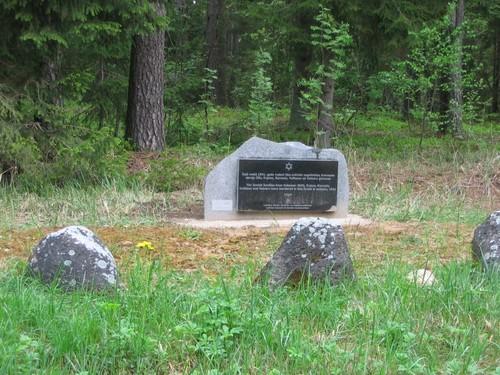 Monument vermoorde Joden Koknese