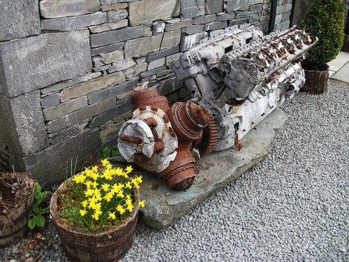 V12 Merlin Motor Halifax LL505