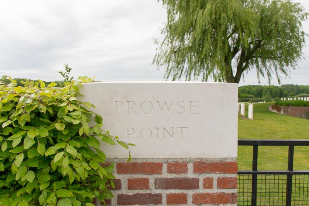 Oorlogsbegraafplaats van het Gemenebest Prowse Point