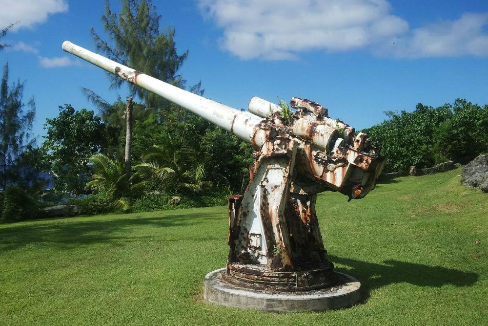 Japanese Coastal Defense Gun Adelup Point