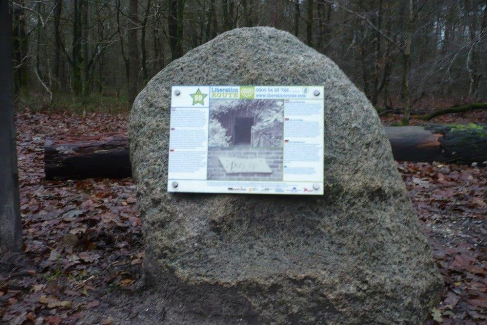 Liberation Route Marker 59