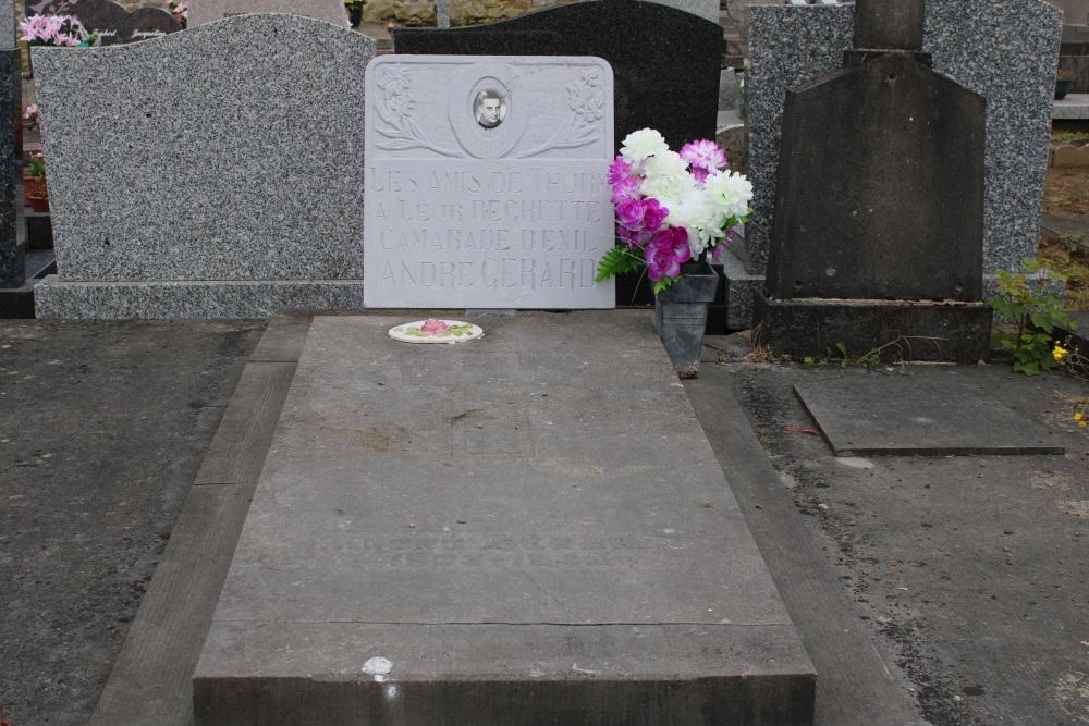 Belgian War Grave Ville-Pommeroeul