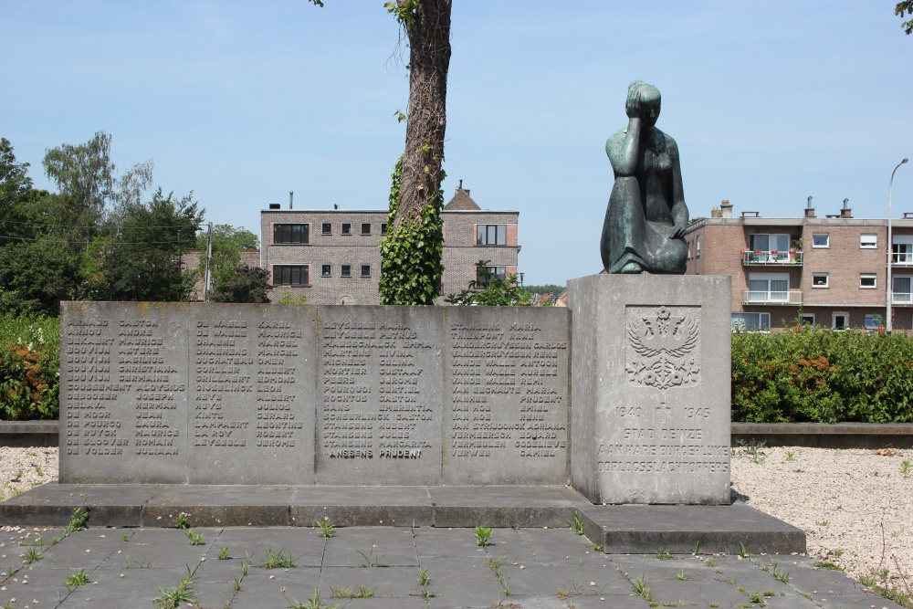 Oorlogsmonument Tweede Wereldoorlog Deinze