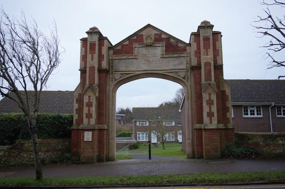 World War I Memorial St. Vincent School