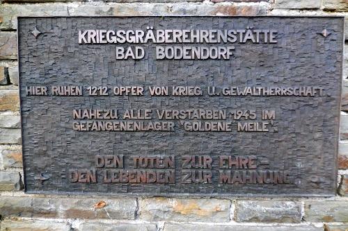 German War Cemetery Bad Bodendorf