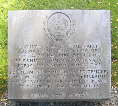 VN-monument Glasnevin Cemetery