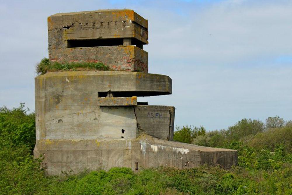 Batterie Waldam - Leitstand Bunker