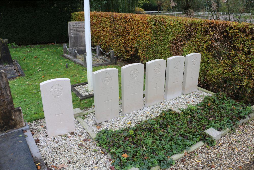 Commonwealth War Graves General Cemetery Zuilichem