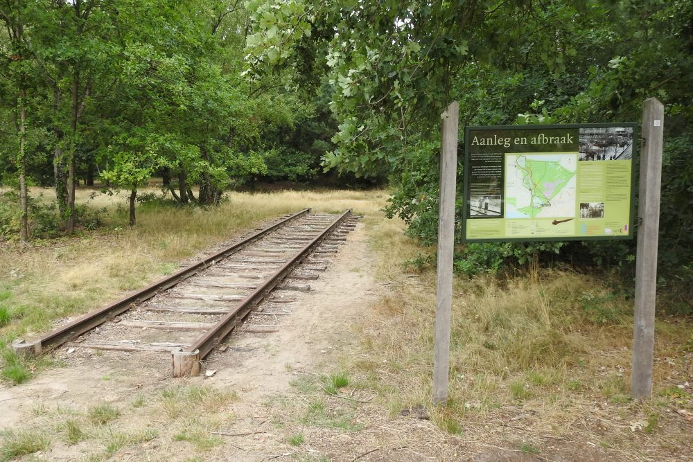 Reconstruction Railway to Vught Concentration Camp