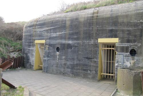 Stützpunkt Lohengrin - Bunkermuseum Zoutelande bunkertype 502