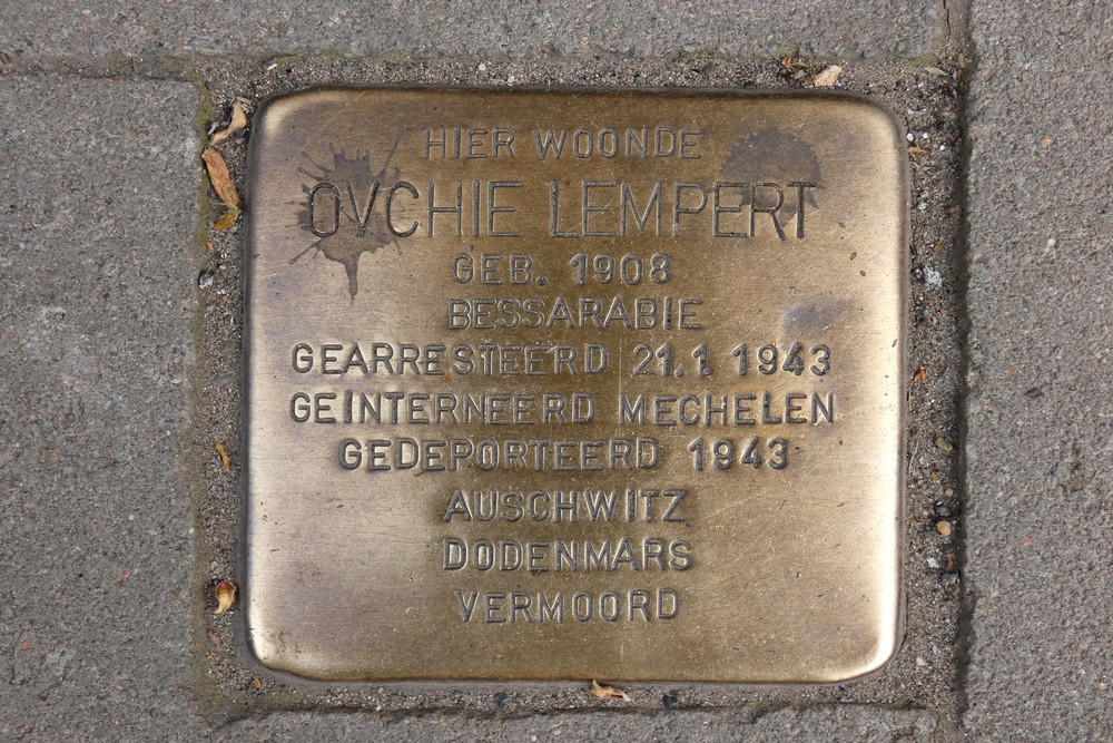 Stolperstein Kortrijksepoortstraat 244