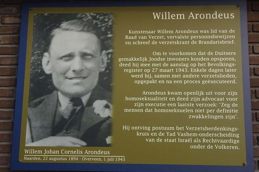Memorial Plates Slotermeer Arondeusstraat