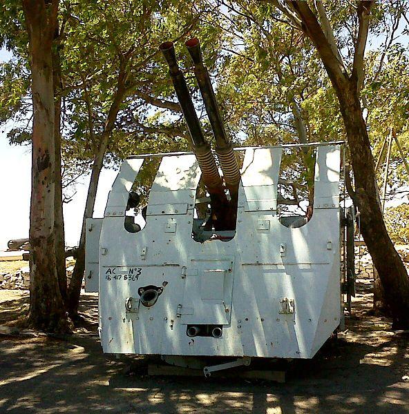 Twin 40-mm Bofors Gun