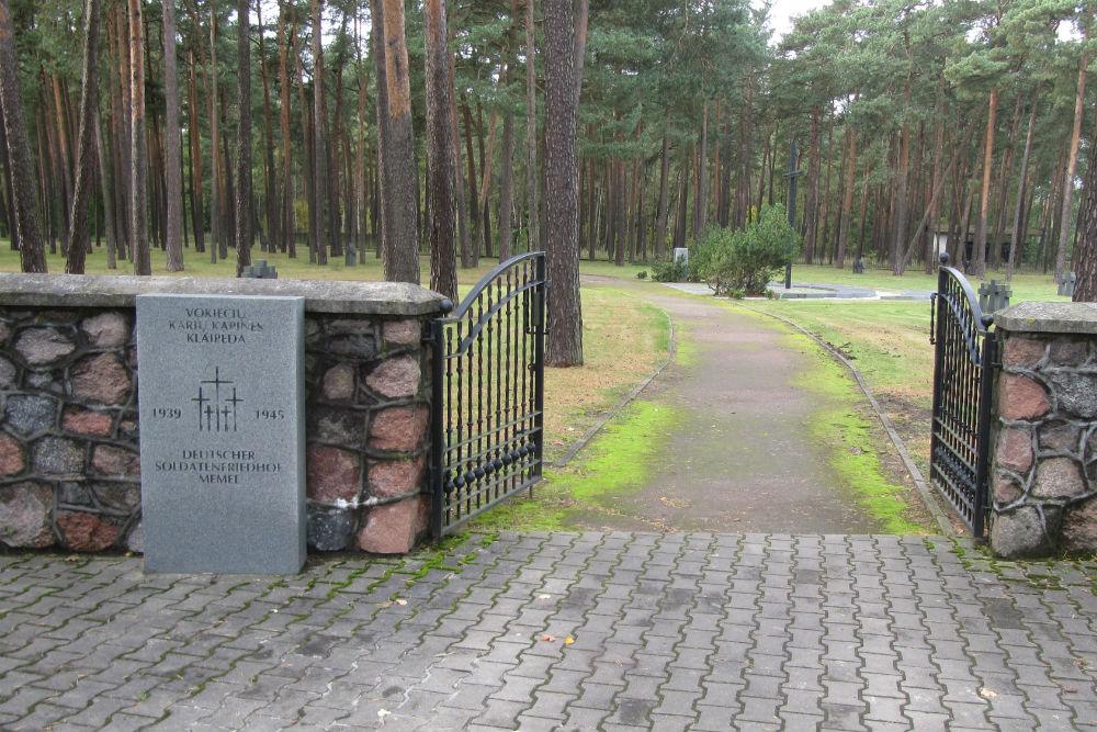 German War Cemetery Memel / Klaipeda