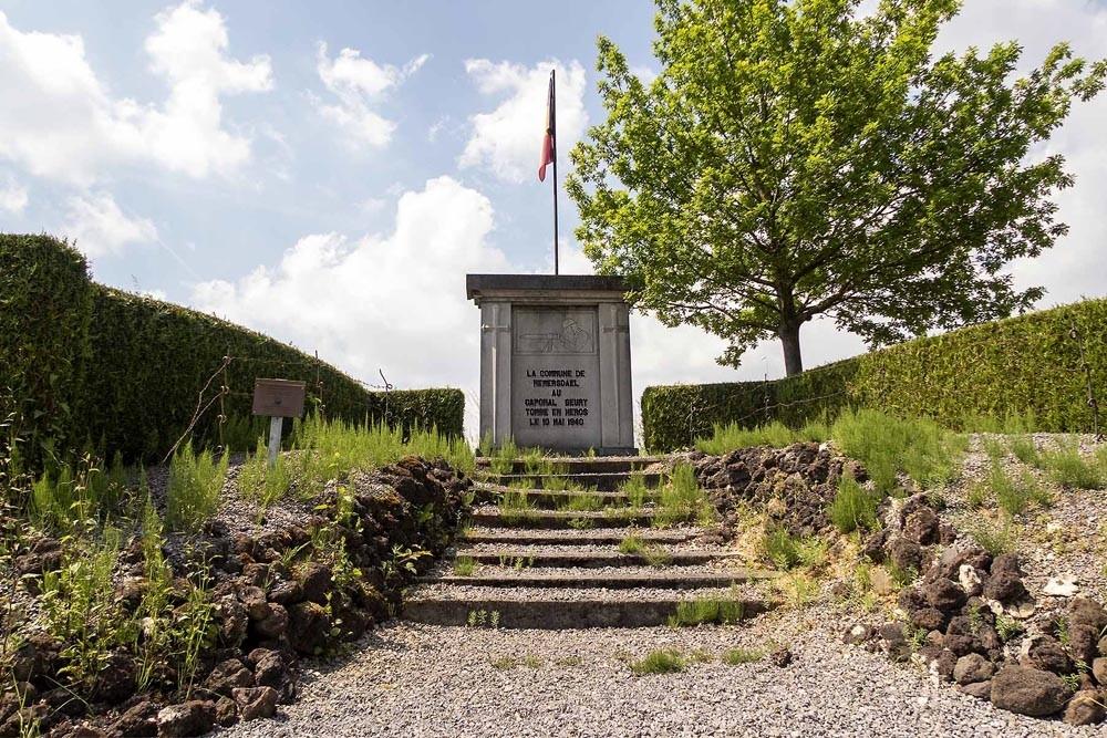 Gedenksteen Korporaal Geury