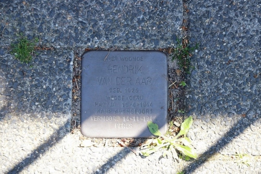 Stumbling Stone Hoflanderweg 54