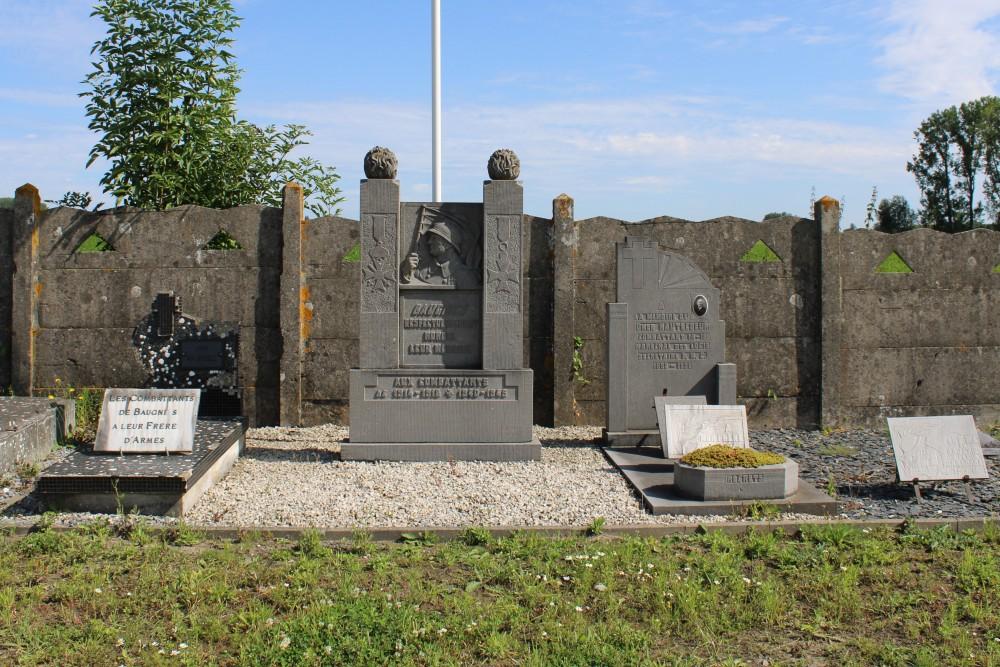 War Memorial Cemetery Baugnies