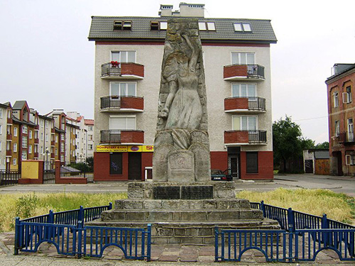 Monument Slachtoffers Joodse Getto Radom