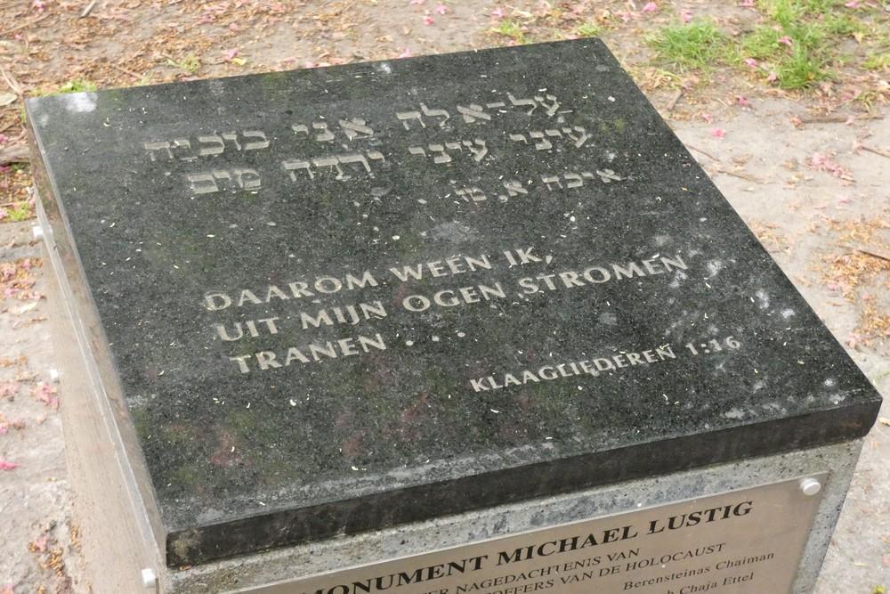 Michael Lustig Holocaust monument Gent