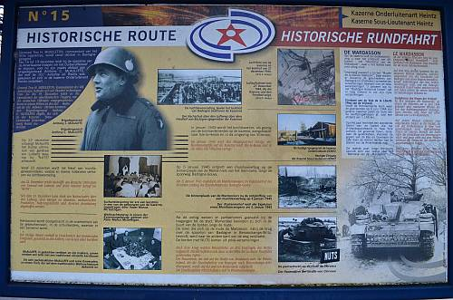 Historical Route Bastogne 15