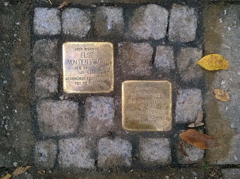 Stolpersteine Freiherr-vom-Stein Allee 10