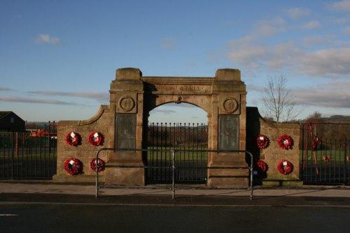 War Memorial Leek