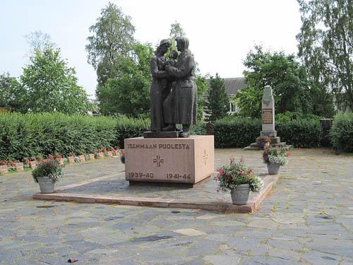 Finse Oorlogsgraven Raahe