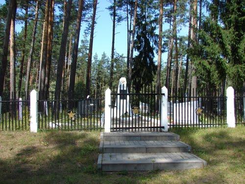 Soviet War Cemetery Rozentovā