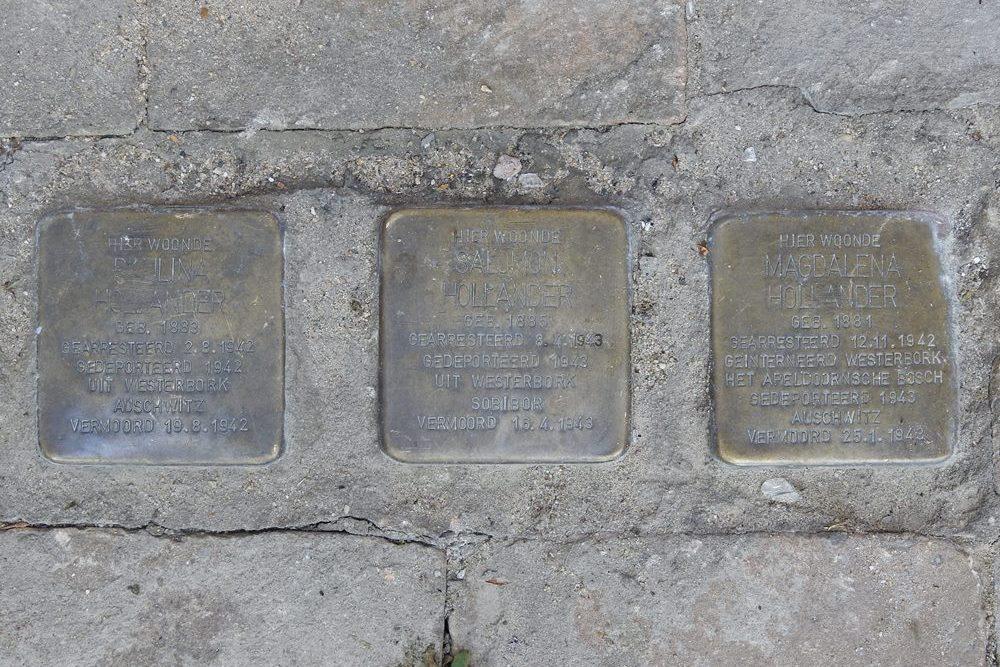Stumbling Stones Emmapassage / Oranjestraat