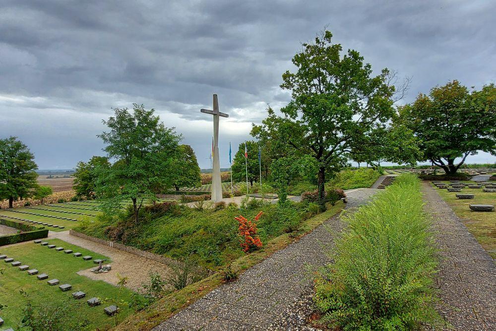 German War Cemetery Berneuil