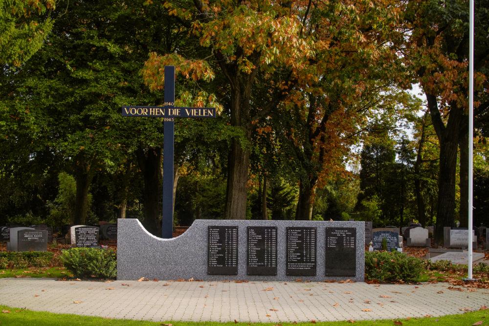 Oorlogsmonument Gemeentelijke Begraafplaats Oostergaarde Harderwijk