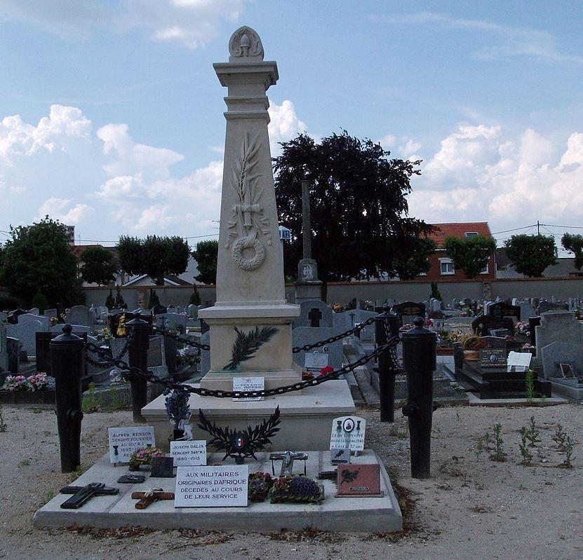 Memorial African Servicemen Reims