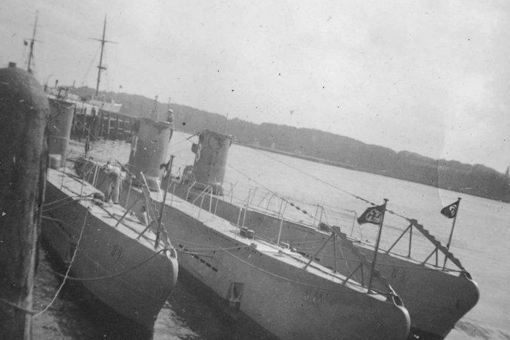 Ship Wreck Submarine U-8