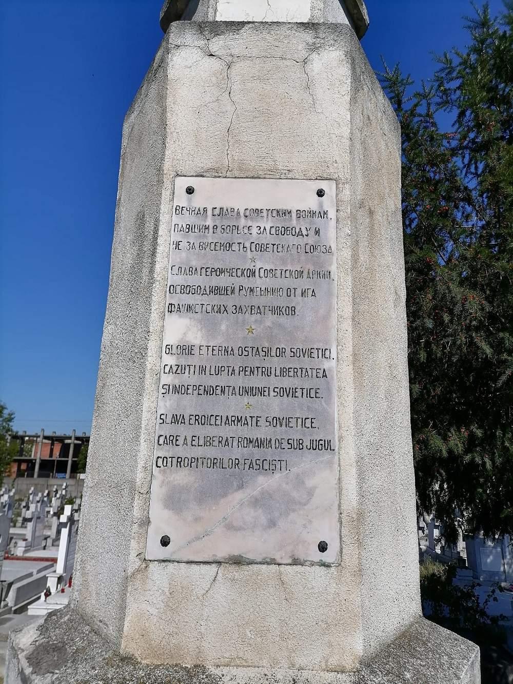 Soviet War Graves Timisoara