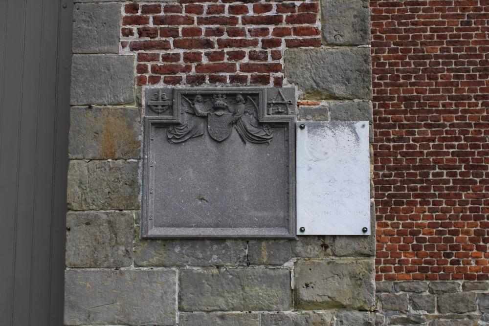 Gedenkplaat Eerste Wereldoorlog Willaupuis