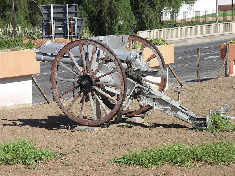 Ordnance BL 15 pounder 3-inch (76 mm) Field Gun - Graaff
