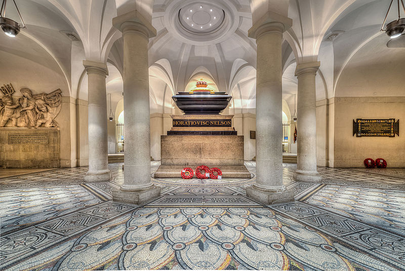 Tomb of Admiral Horatio Nelson