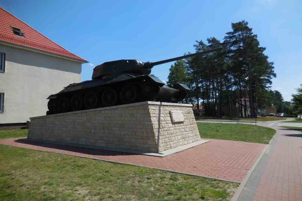 Liberation Memorial (T-34/85 Tank) Borne Sulinowo