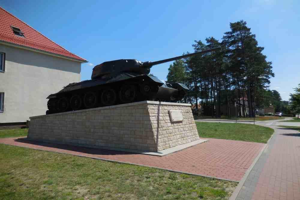 Bevrijdingsmonument (T-34/85 Tank) Borne Sulinowo