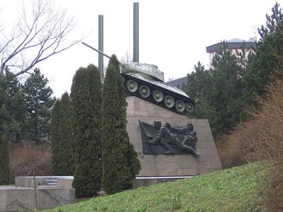 Bevrijdingsmonument (T-34/85 Tank) Ostrava