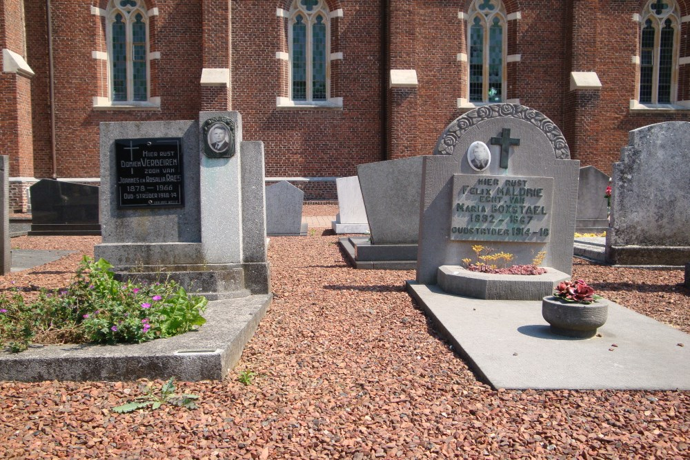 Veteran War Graves Welle
