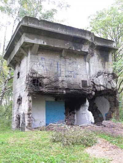 Festung Pillau - Flaktur (Flak Tower)