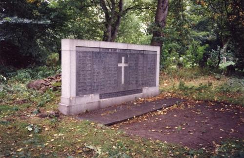 Commonwealth War Graves Newington Cemetery